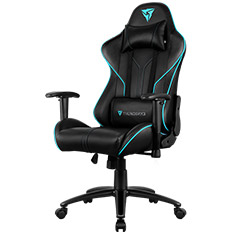 Aerocool ThunderX3 RC3 RGB Gaming Chair Black Cyan