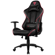 Aerocool ThunderX3 RC3 RGB Gaming Chair Black Red