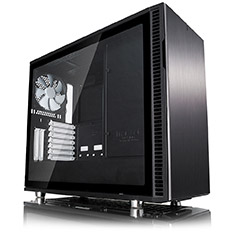 Fractal Design Define R6 Black Tempered Glass Case
