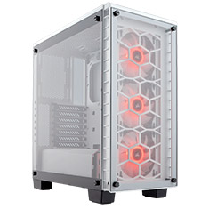 Corsair Crystal Series 460X RGB Case - White