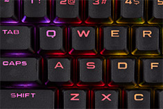 Corsair Gaming PBT Double Shot Keycap Set - Black