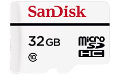 SanDisk High Endurance Video Monitoring Micro SD 32GB
