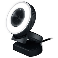 Razer Kiyo Camera for Streaming with Ring Light Illumination