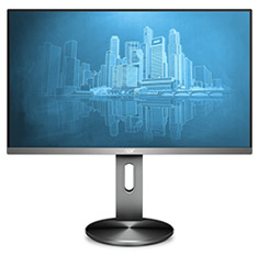 AOC I2490PXQU/BT 23.8in IPS FHD Flicker Free LED Monitor