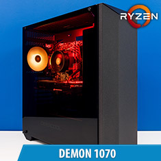 PCCG Demon 1070 Gaming System
