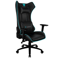 Aerocool ThunderX3 UC5 RGB Gaming Chair Black Cyan