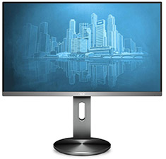 AOC I2790PQU/BT 27in IPS FHD Flicker Free LED Monitor