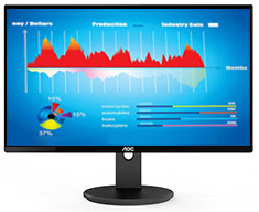 AOC I2790VQ 27in IPS FHD Flicker Free LED Monitor