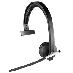 Logitech H820E Enterprise Wireless Mono Headset