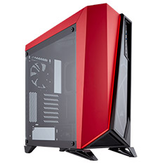 Corsair Carbide SPEC Omega TG Case Black/Red