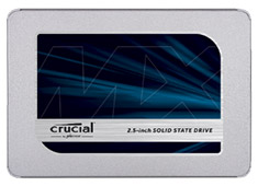 Crucial MX500 2.5in SATA SSD 500GB