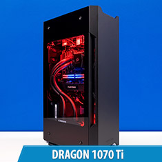 PCCG Dragon 1070 Ti Gaming System