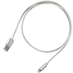 SilverStone CPU03 Type-A to Lightning Cable 1m Silver