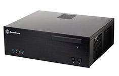 SilverStone Grandia GD04 HTPC Case Black