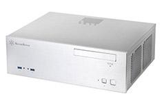 SilverStone Grandia GD04 HTPC Case Silver