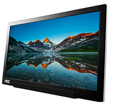 AOC I1601FWUX 15.6in FHD Portable USB Type-C Monitor