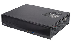 Silverstone Milo ML03 Black Slim HTPC Case