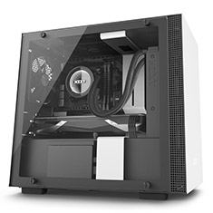 NZXT H200i Smart Mini-ITX Case White/Black