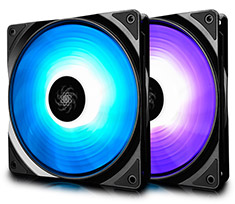 Deepcool RF-140 RGB Fan 140mm - Twin Pack