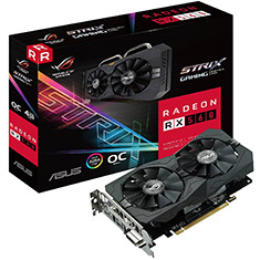ASUS ROG Strix Radeon RX 560 OC Edition 4GB