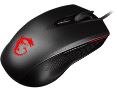 MSI Gaming Clutch GM40 Optical Mouse Black