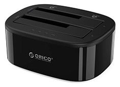 Orico Dual Bay HDD/SSD Dock and Cloner USB 3.0