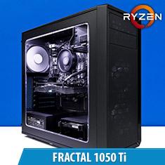 PCCG Fractal 1050 Ti Gaming System