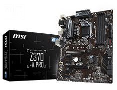 MSI Z370-A PRO Motherboard
