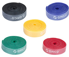 Orico Reusable & Dividable Hook and Loop Cable Ties 1m