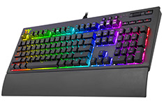 Thermaltake Premium X1 RGB Cherry MX Sliver Keyboard