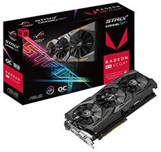 ASUS ROG Radeon RX Vega 64 Strix Gaming OC 8GB