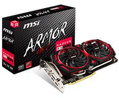 MSI Radeon RX 580 Armor MKII OC 8GB
