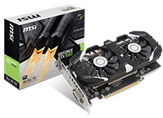 MSI GeForce GTX 1050 2GT OCV1 2GB