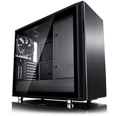 Fractal Design Define R6 Blackout Tempered Glass Case