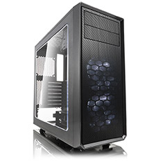 Fractal Design Focus G ATX Case with Window Gunmetal Grey
