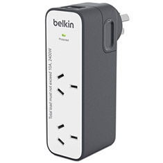 Belkin International Travel Surge Protector With 2 USB Ports