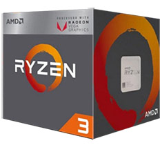 AMD Ryzen 3 2200G APU with Vega 8 Graphics
