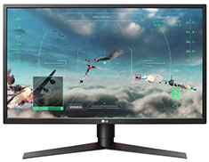 LG 27GK750F-B FHD 240Hz FreeSync 27in TN Gaming Monitor