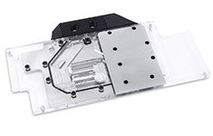 EK FC1080 GTX Ti Strix Full Cover Waterblock Nickel