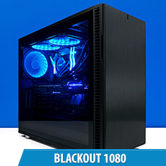 PCCG Blackout 1080 Gaming System