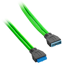 CableMod ModMesh Internal USB 3.0 Ext. 50cm Light Green