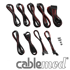 CableMod PRO ModMesh C-Series RMi & RMx Cable Kit Black/Blood
