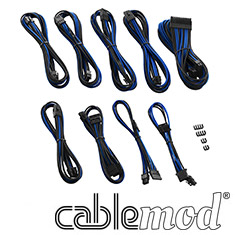 CableMod PRO ModMesh C-Series RMi & RMx Cable Kit Black/Blue