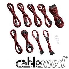 CableMod PRO ModMesh C-Series RMi & RMx Cable Kit Blood Red