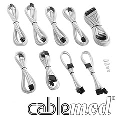 CableMod PRO ModMesh C-Series RMi & RMx Cable Kit White