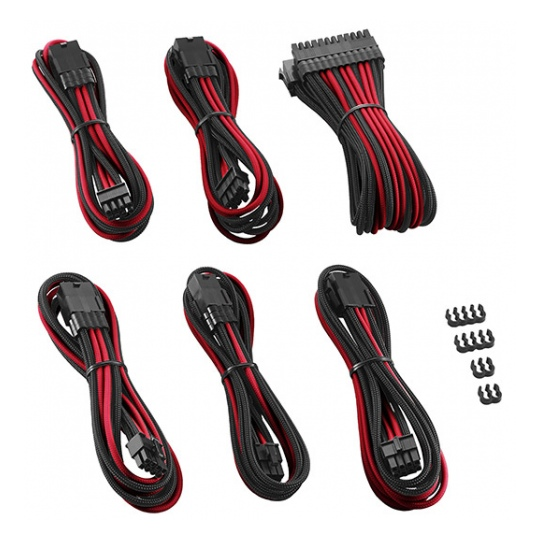 CableMod PRO ModMesh Cable Extension Kit Black/Red