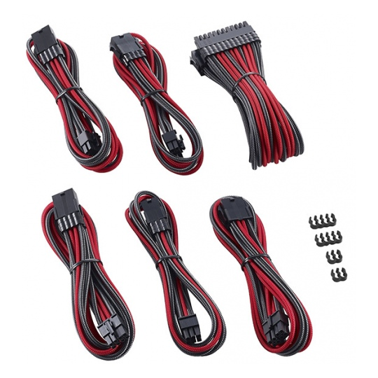 CableMod PRO ModMesh Cable Extension Kit Carbon/Red