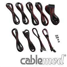 CableMod PRO ModMesh E-Series G3/G2/P2/T2 Cable Kit Black/Blood