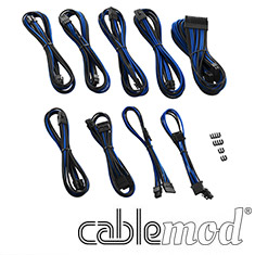CableMod PRO ModMesh E-Series G3/G2/P2/T2 Cable Kit Black/Blue
