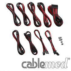 CableMod PRO ModMesh E-Series G3/G2/P2/T2 Cable Kit Black/Red